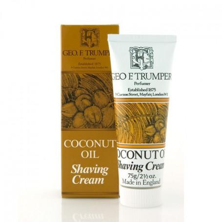 """Crème de rasage """"Coconut Oil"""" en Tube - Geo F.Trumper"""
